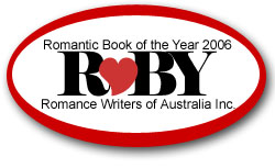 Winner of romantic book of the year 2006